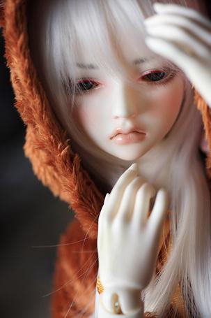 Фото Грустная кукла -девушка, by chibi-lilie