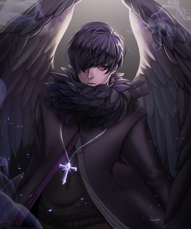 Фото Чернокрылый ангел, by ravaniz
