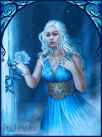Фото Дейенерис Таргариен / Daenerys Targaryen из сериала Игра престолов / Game of Thrones, by Bea-Gonzalez
