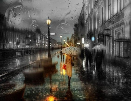 Фото дождь дома люди (56 фото)