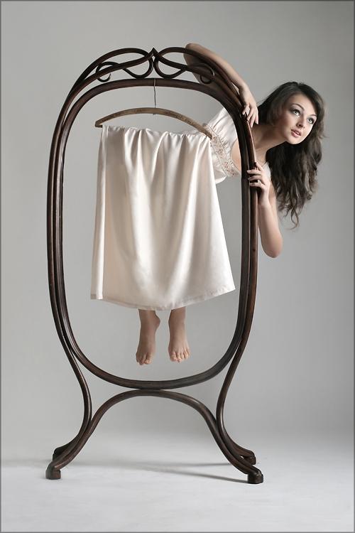 Платье на вешалке рисунки