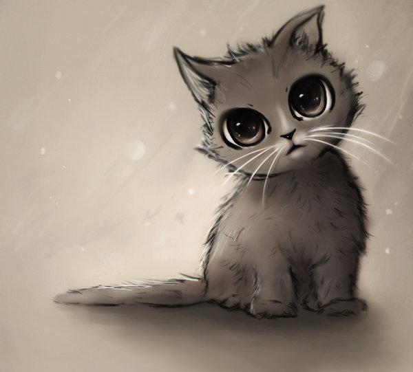 Картинки с милыми котиками рисунки, поздравление пожарных открытка