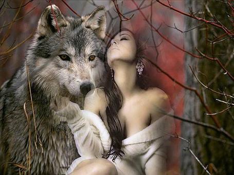 Фото Любимая девушка волка Акелы