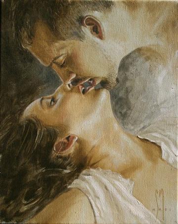 Фото Влюбленная пара, художник Sergio Martinez Cifuentes