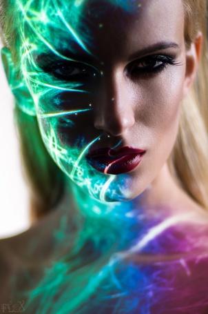 Фото Модель Alin Di в звездном свете, ву Stanislav Istratov