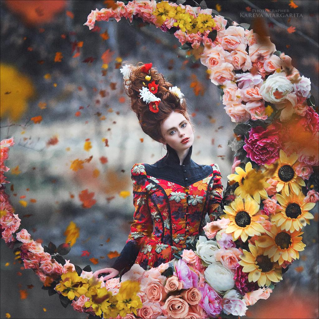 концептуальность фото с цветами несмотря загруженность театре