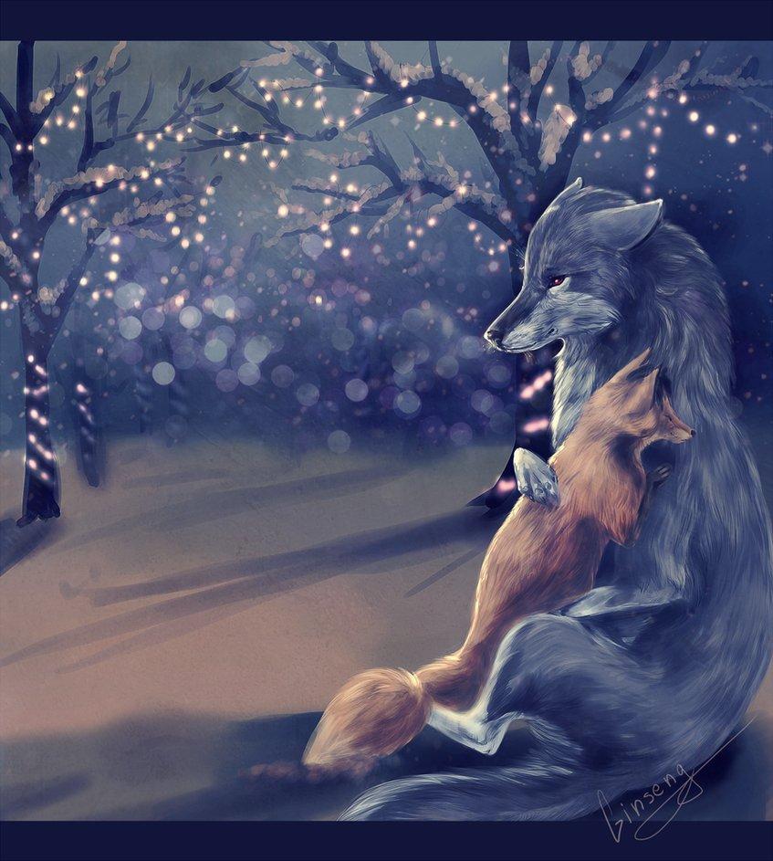 Волк и лиса картинки прикольные, открытки котята
