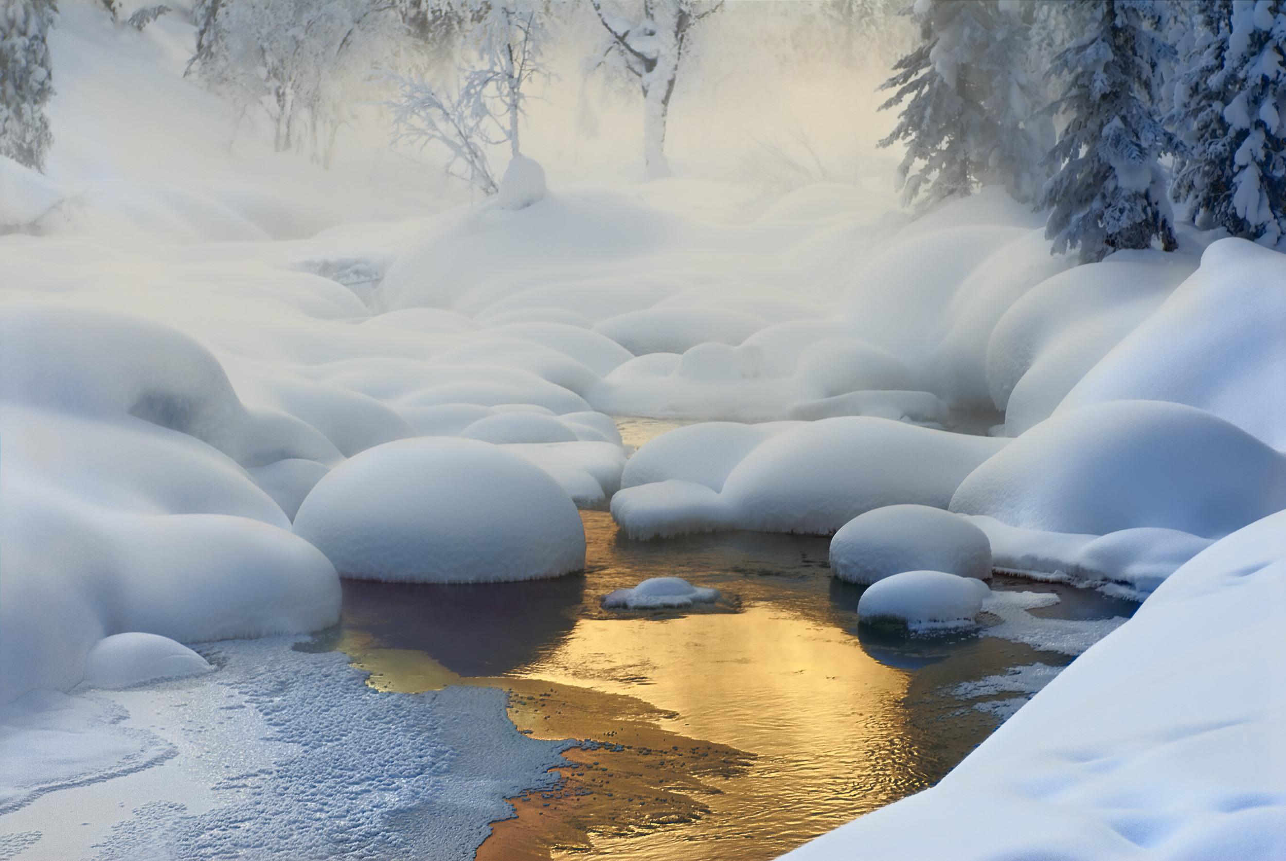 Зимний пейзаж фотографии зимы 5