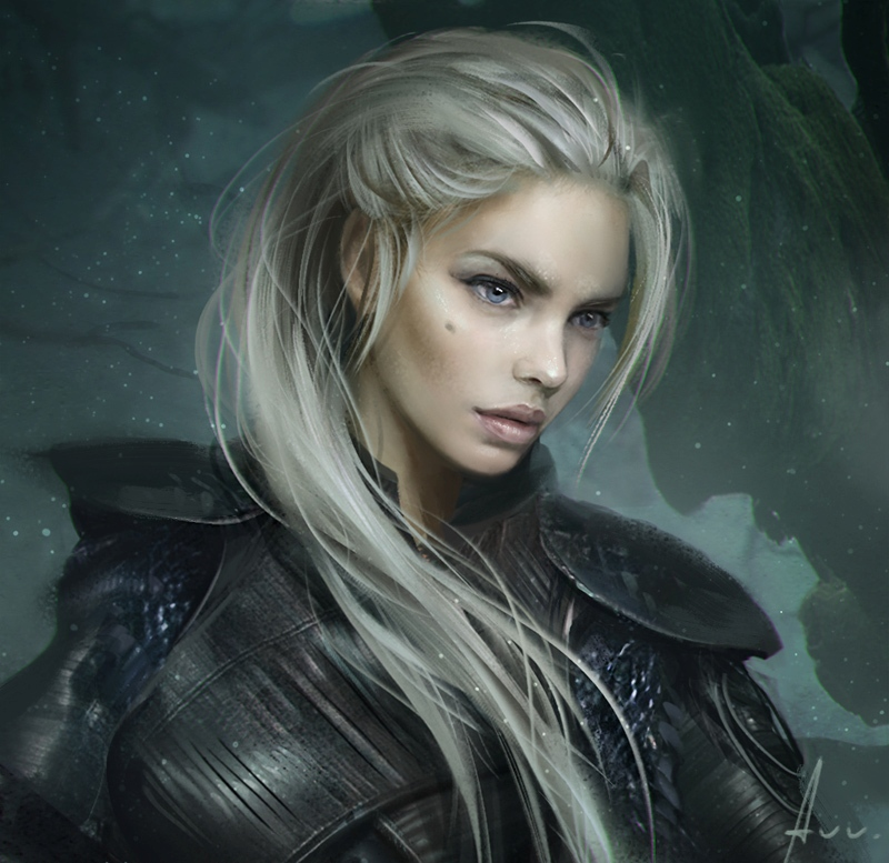 Ведьма со светлыми волосами картинки