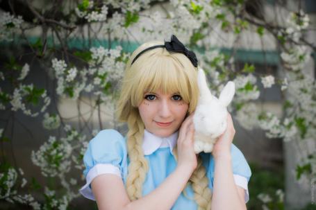 Фото Косплей Alice / Алиса из аниме Alice in Wonderland / Алиса в стране чудес, by Kawaielli