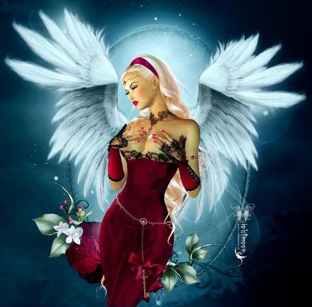 Фото Девушка - ангел, ву Violetmoon