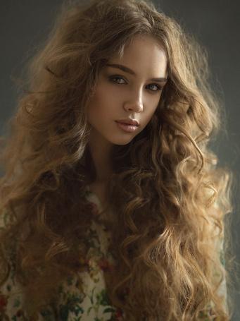 Фото Девушка с длинными волосами, фотограф Казанцев Алексей