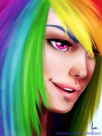 Фото Рэйнбоу Дэш / Rainbow Dash из мультсериала Мой маленький пони: Дружба – это чудо / My Little Pony: Friendship is Magic / MLP:FiM, by riotfaerie