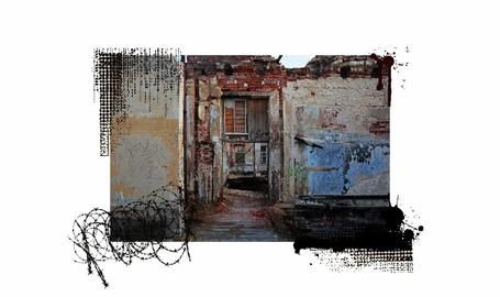 Фото Двоичный код, усадьба Гребнево на белом фоне
