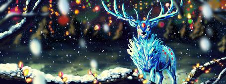 Фото Рождественский олень, by Yuuza