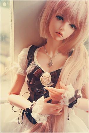 Фото Милая грустная девушка-кукла, by Quartz-Qin