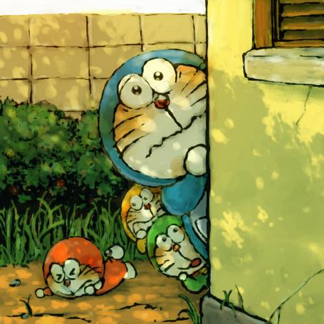 Фото Дораэмон / Doraemon и котята из аниме Дораэмон-1979 / Doraemon (1979)
