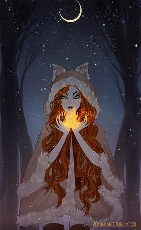 Фото Огненная лисица, by Zephyrhant