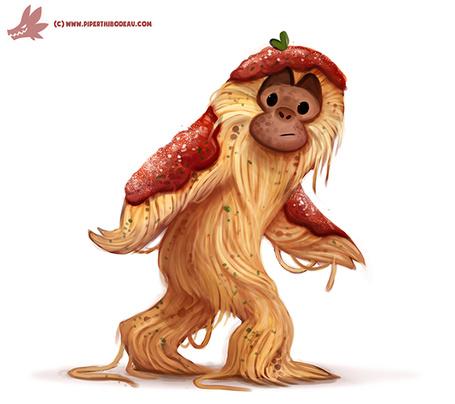 Фото Смешная обезьяна, by Cryptid-Creations