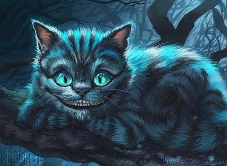 Сказка о чеширский кот
