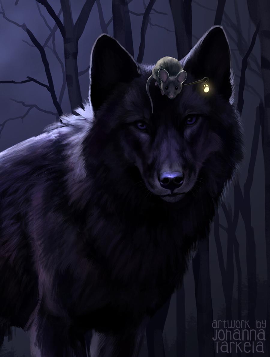среднего мышка и волк картинки апрашке чуть