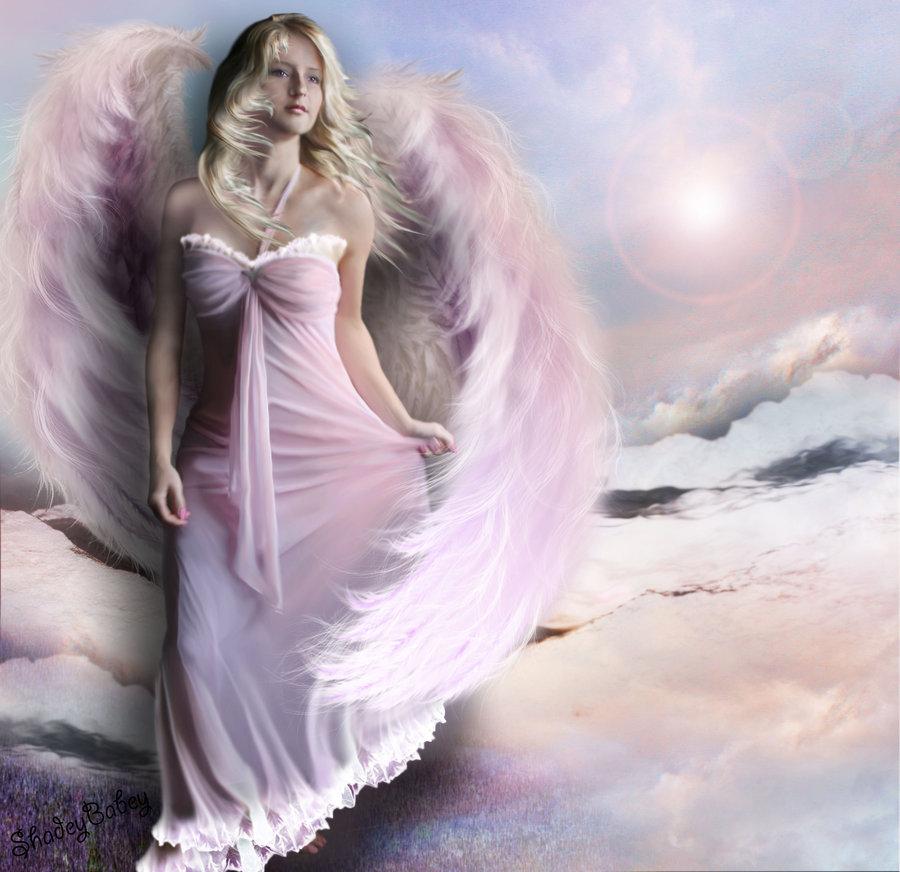 Марта, девушка ангел открытка