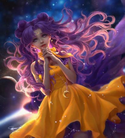 Фото Луна / Luna из аниме Сейлор Мун / Sailor Moon, by sunmomo
