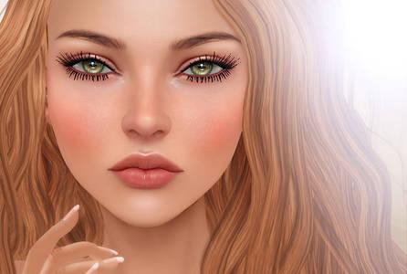 Фото Портрет девушки с зелеными глазами, by Lara Hurley