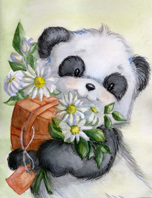Поздравления с днем рождения панда картинки, поздравительные детьми поздравительные