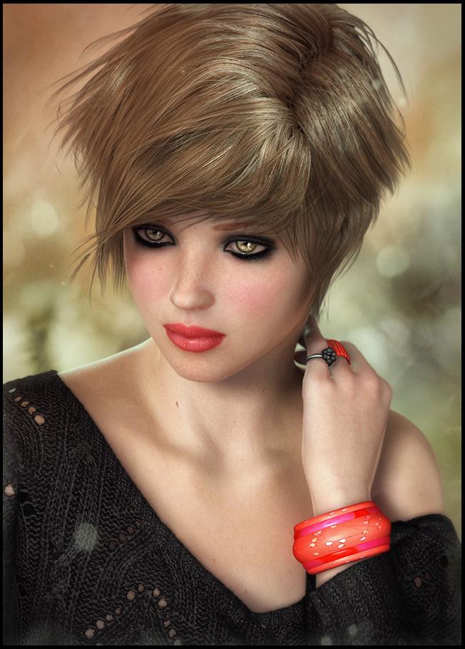Девушка с браслетом фото