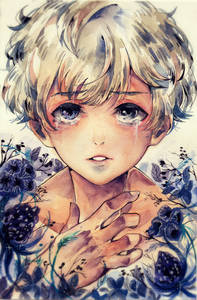 Фото Плачущий мальчик, by Heriumu-kaji