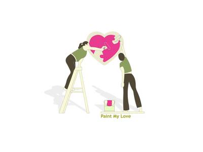 ���� ������� � ������ ������������ �������� / Paint my love / ������� ��� ������