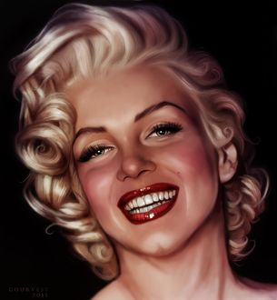 Фото Портрет Marilyn Monroe / Мэрилин Монро, ву christine gourvest