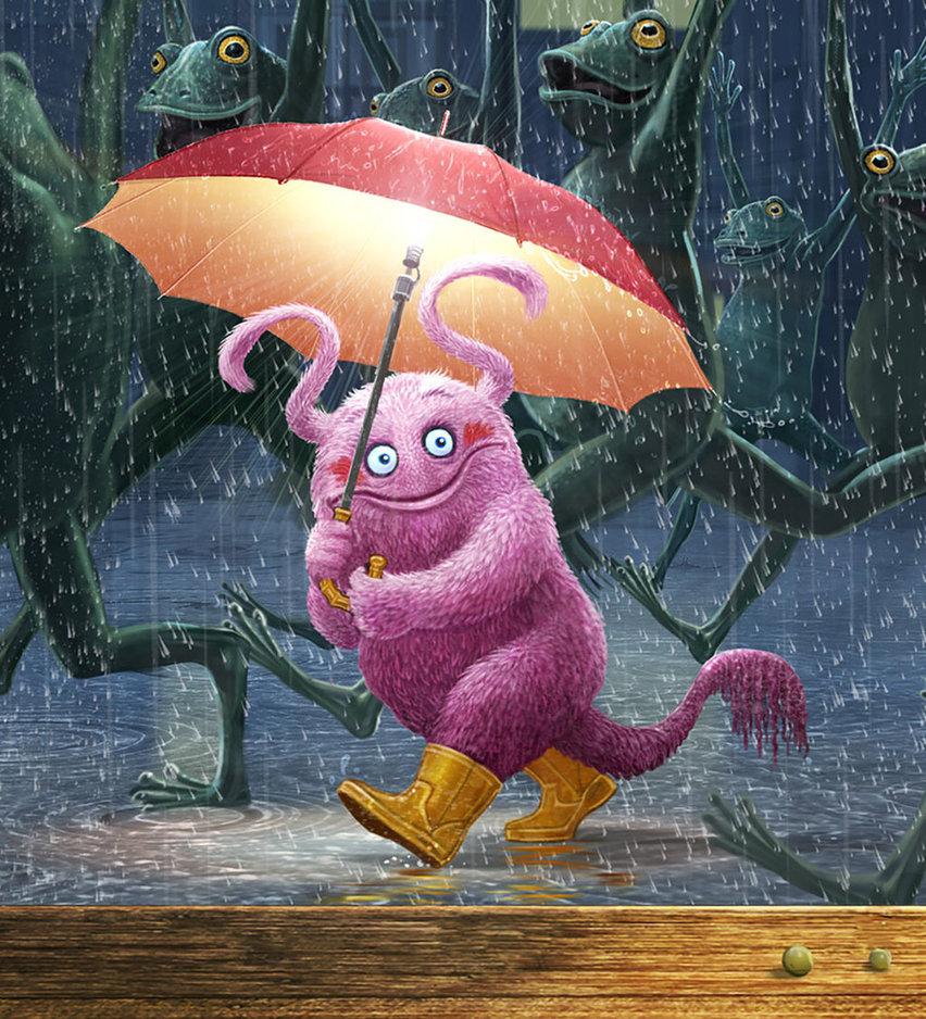Картинка смешная про дождь, надписями все изменить