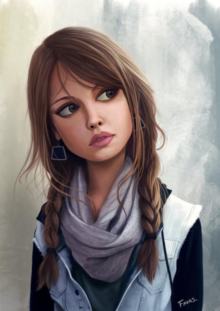 Мультяшные картинки с девочками, любимой девушке самые