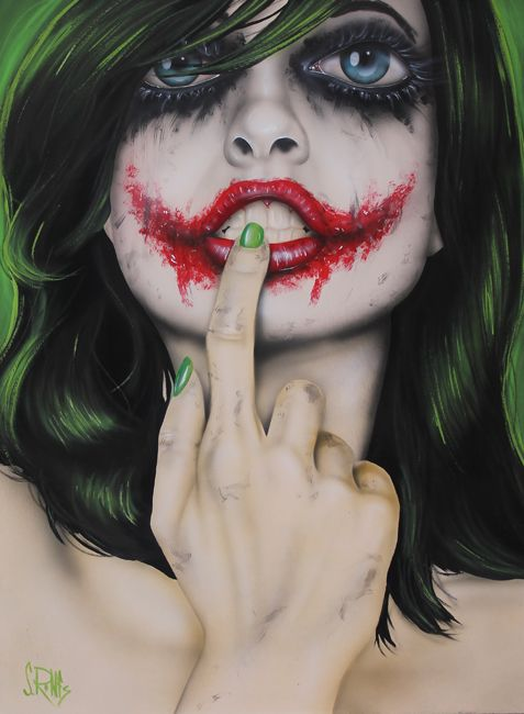 Джокер девушка в картинках