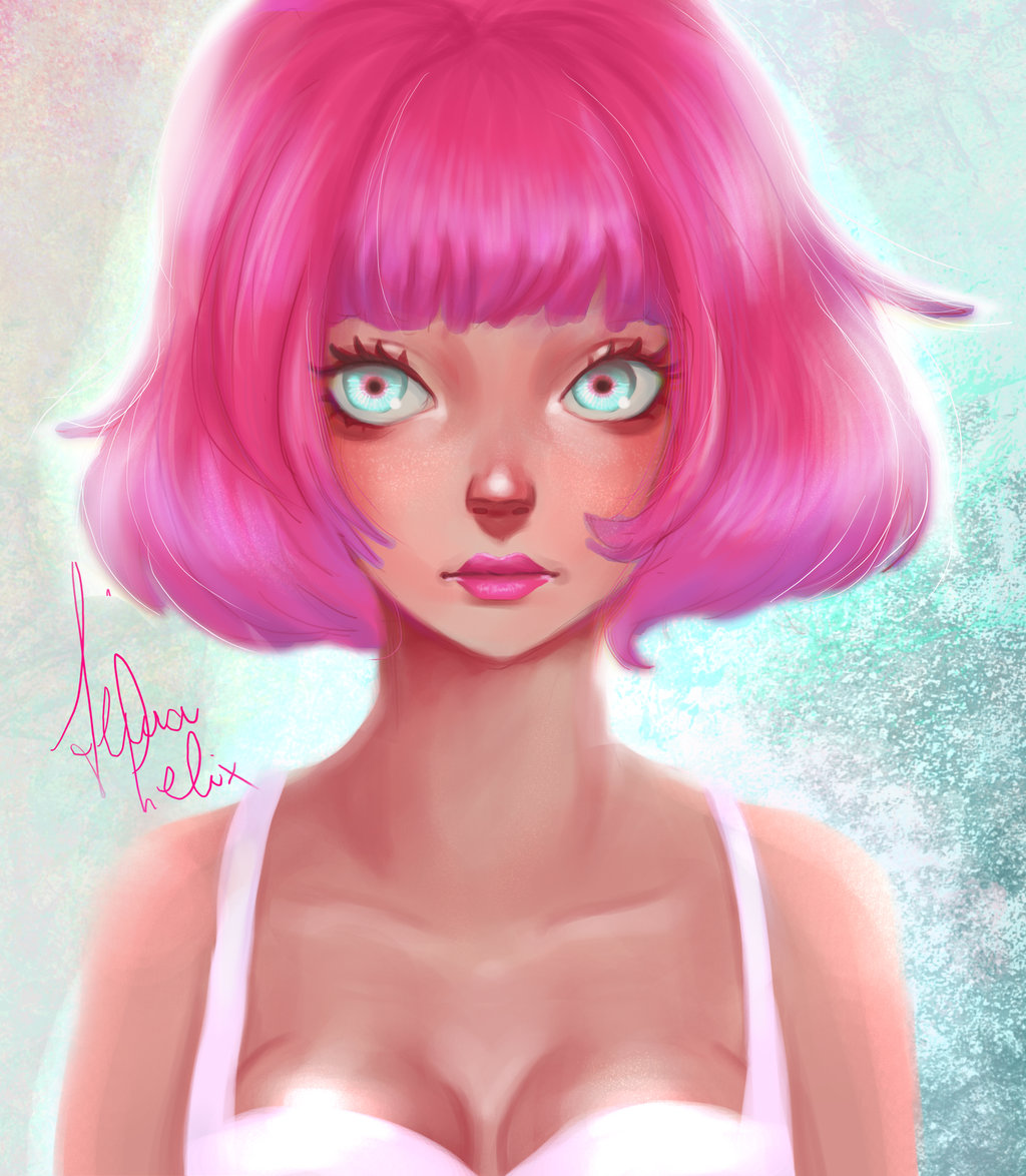 Девушка с розовыми волосами» читать онлайн