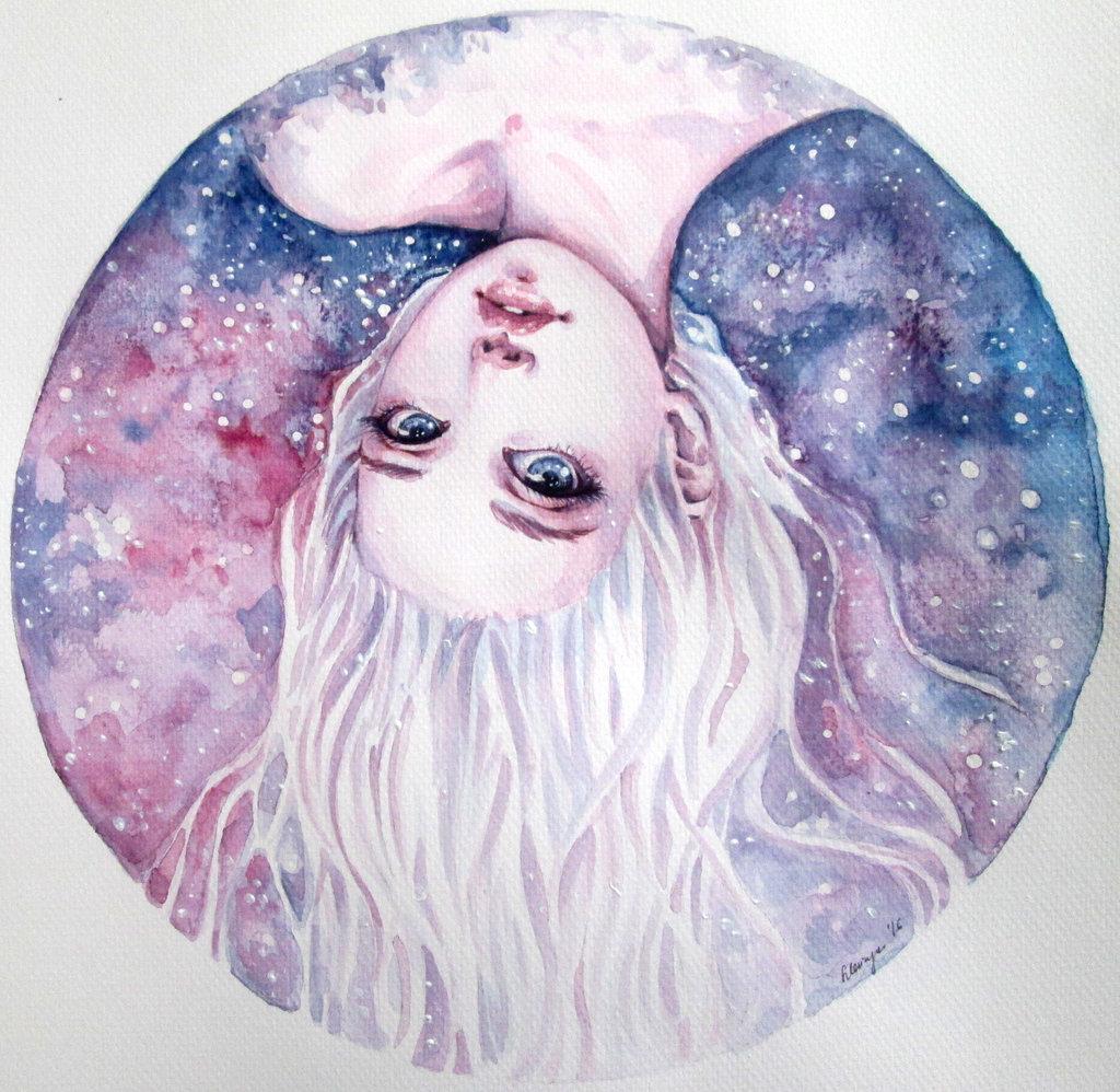 Рисунки космос фэнтези
