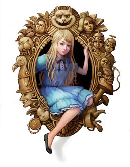 Фото Алиса в Стране Чудес / Alice in Wonderland / by Huyen-n00b