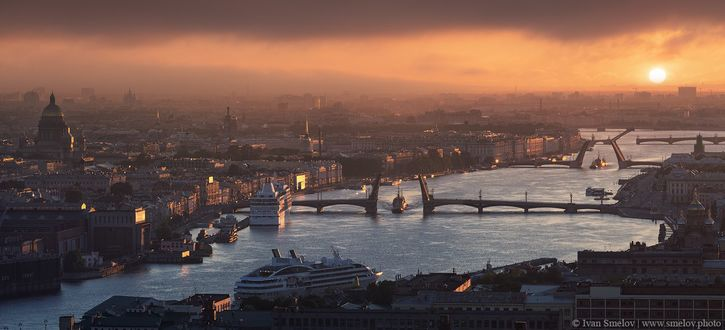 Фото Санкт-Петербург, разводные мосты / Seint-Petersburg