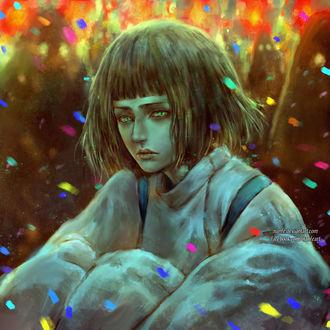���� ���� / Haku �� ����� ��������� ���������� / Spirited Away, by NanFe
