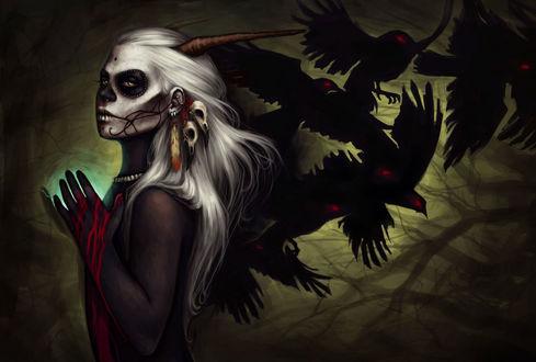 Фото Демон-Ворона / Crow Demon из игры Dark Souls / Темные Души