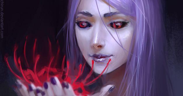 ���� ���� �������� / Rize Kamishiro ������ � ����� ����� �������� �������� �� ����� ��������� ������ / Tokyo Ghoul