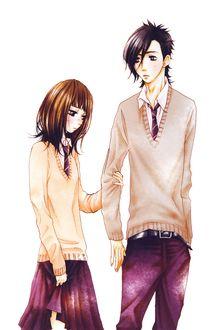 ���� Mei Tachibana � Yamato Kurosawa �� ����� Say i love you / ����� � ����� ����, art by Kanae Hazuki