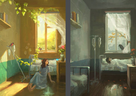 Фото Девочка, которая находится в больнице, которая болела и выздоровела, by Sylar113