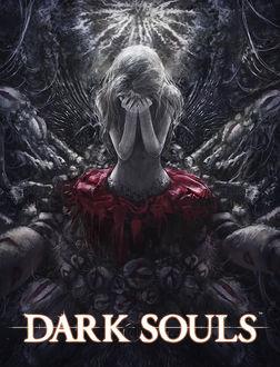 Фото Девушка закрыла лицо руками, (Dark Souls / темные души)