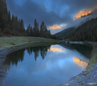 Фото Утро на горном озере, фотограф Матвеев Николай