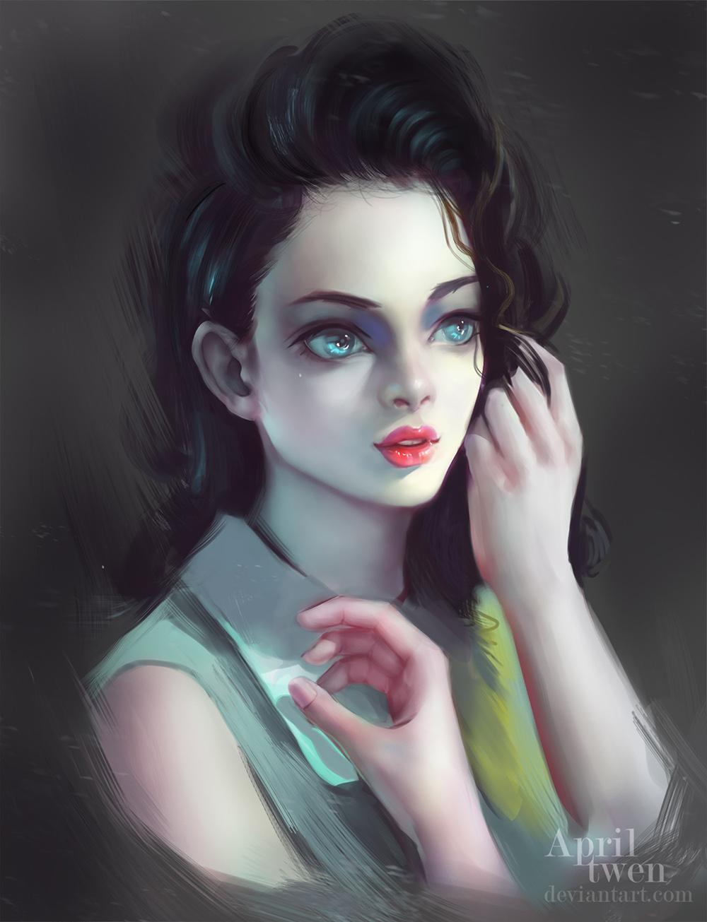 знакомства с голубыми глазами