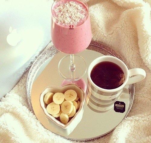 Завтрак на подносе картинки