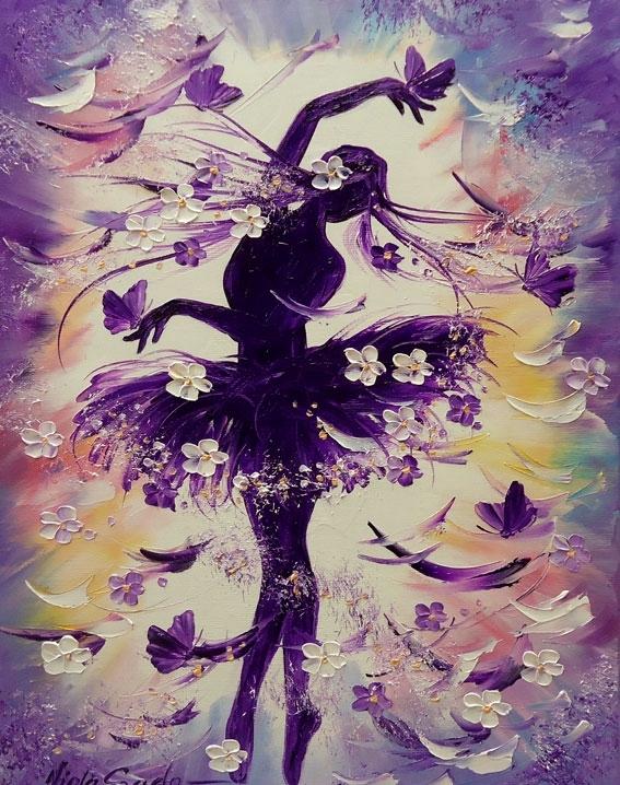 цветочные балерины картинки занимался уголовными